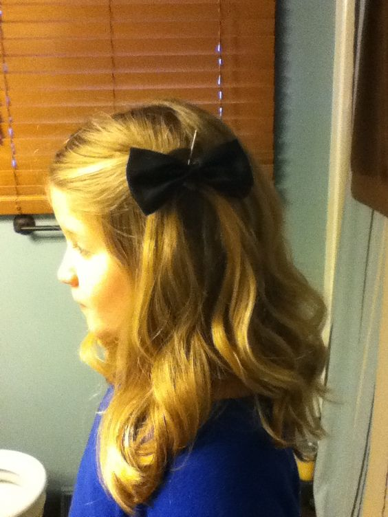 Cute little girl hairstyle :)