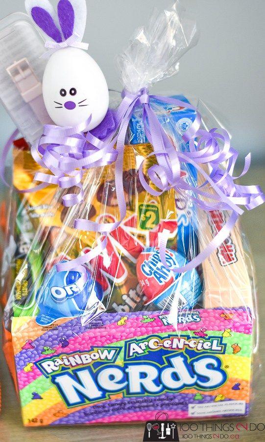 Edible Easter Basket Easter Basket Ideas Easter Basket Treats Candy Easter Baskets Edible Easter Basket Candy Easter Basket Creative Easter Baskets