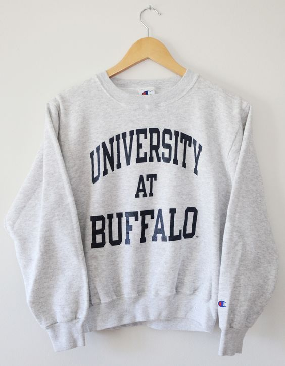Vintage University at Buffalo Bulls Champion Crewneck Sweatshirt ...