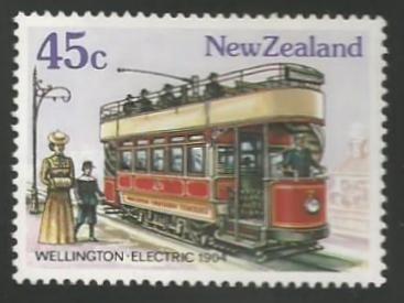 Series: Vintage trams (1985)