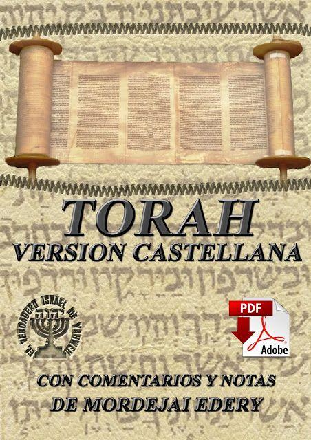 Toráh Versión Castellana Con Comentarios Y Notas De Mordejai Edery Biblia Biblia Hebrea Y Libros Cristianos Pdf