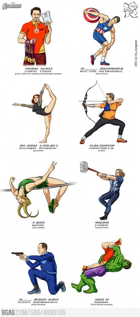 Olympics 2012: Avengers