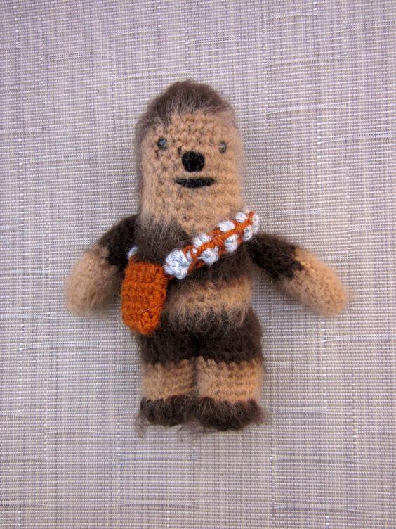 Chewbacca, Crochet dolls and Newborn photo props on Pinterest