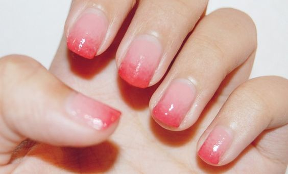 Step by step perfect french manicure