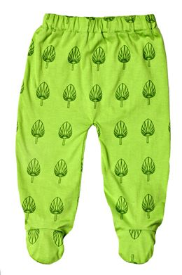 'Palm' Printed Footie Pant