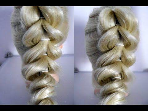 Einfache Frisur Ohne Flechten Franzosischer Zopf Fur Mittellange Haare Easy French Braid Peinados Youtube In 2021 Zopfe Franzosischer Zopf Flechten