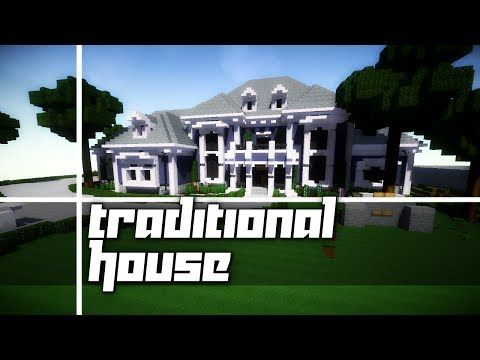 Minecraft Traditional House Tour From My New Server Youtube Traditional House House Tours City Decor