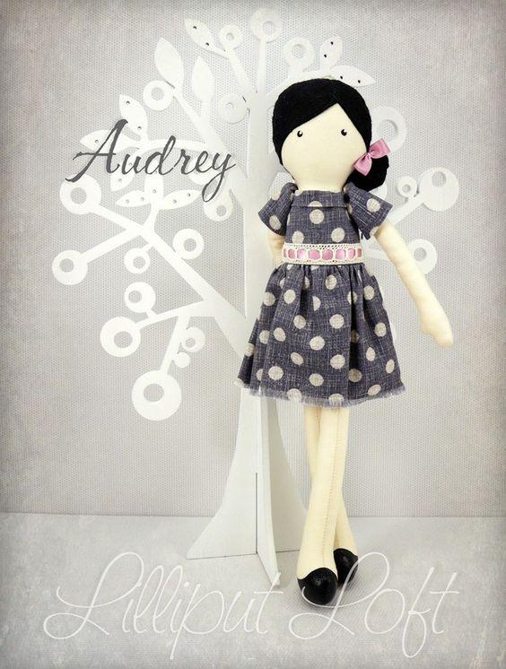 Audrey - Pretty Poppets © Lilliput Loft 2014
