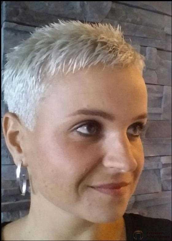 Frauen ultrakurze haare Ultrakurze frisuren