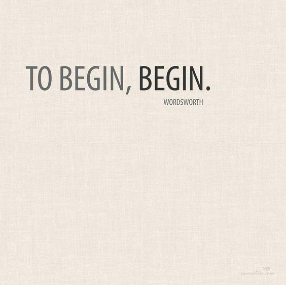 #boost #ledeclicanticlope / Pour commencer : commence. Via inspirationalquotesimg.com