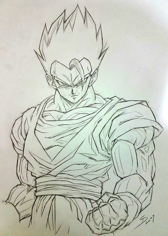 Wie Zeichnet Man Goku Xeno Super Dragon Ball Heroes Ball