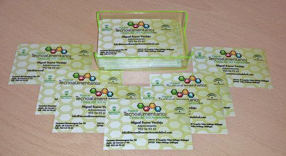 tarjetas del parque tecnoalimentario Costa del Sol Axarquía