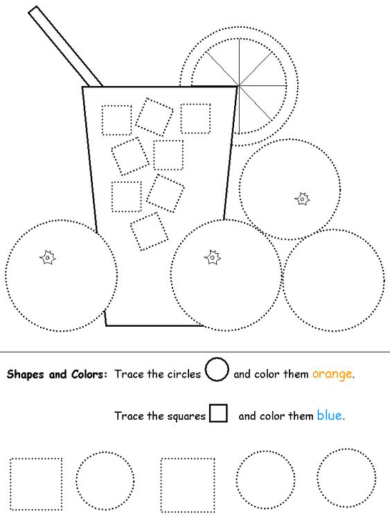 shapes recognition practice worksheet preschool shapes pinterest coloring circles and shape. Black Bedroom Furniture Sets. Home Design Ideas