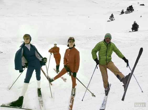 El #esquí también está de #moda