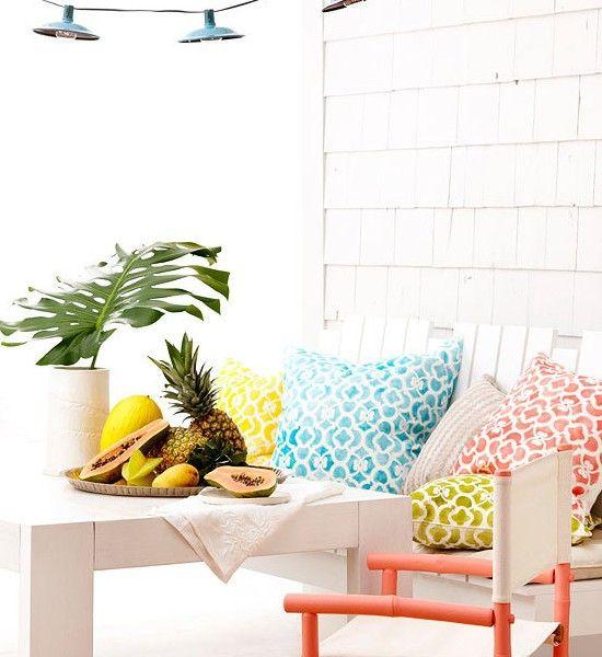 Tipps-zur-terrassengestaltung-weiße-möbel | Dekoration | Pinterest ... Terrassengestaltung Tipps