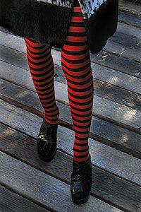 Leg Avenue Striped Tights