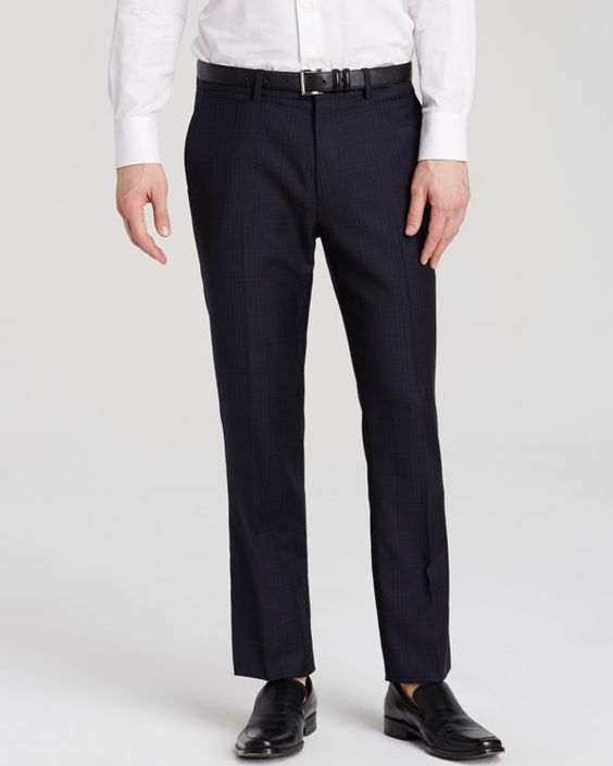 Theory Marlo U Ganler Trousers - Slim Fit