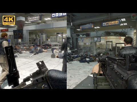 Cod Mw2 Remastered Comparison No Russian Gameplay Walkthrough In 2020 Best Indie Games New Upcoming Games Modern Warfare
