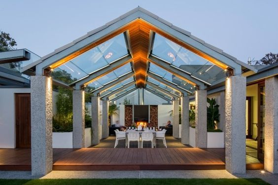 Glued Glass Roof Pavilion In Christchurch Earthquake Zone Wins