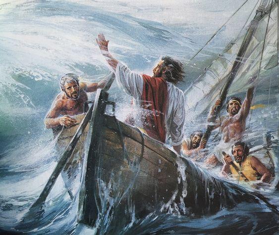 Jézus a viharban