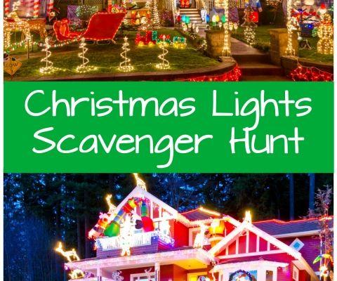 Christmas Lights Printable Scavenger Hunt Christmas Jokes For Kids Art Activities For Kids Craft Stick Crafts
