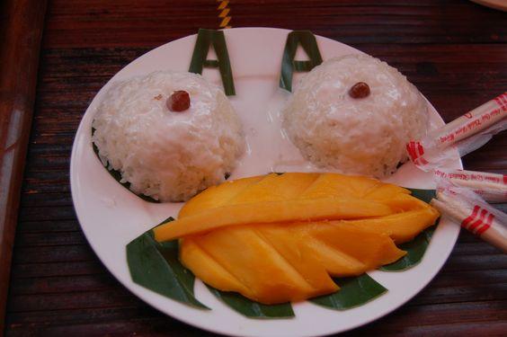 Il riso con mango, perche' no? http://viaggivietnam.asiatica.com/