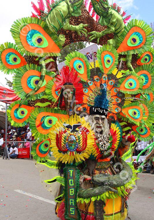 Les masques du carnaval d'Oruro, Bolivie