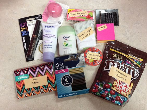 The Pink Stamper: First Day of School and Survival Kits