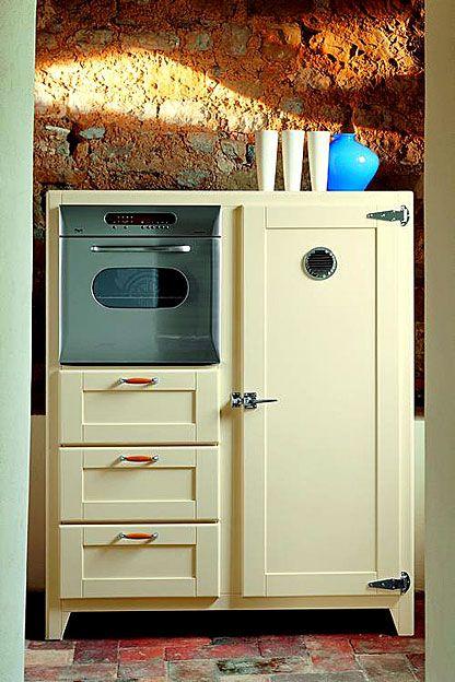 Kitchen appliances...Nevera Laredo   Material: Madera de Nogal    Peso: 79 kg.Incluye Frigorifico REX FI 250 2TA (Clase A) y Horno REX FMS 90 XE.Laredo,Nevera,Acabados... Desde Eur:6047 / $8042.51