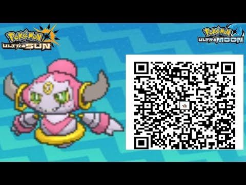 Pokemon Ultra Sun Event Qr Codes Youtube With Images Pokemon