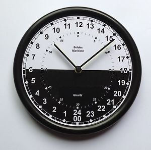 Day And Night 24 Hour Clock Wall Clocks Pinterest