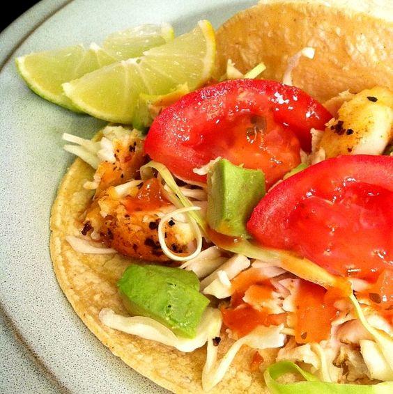 Because of Madalene: Orange Roughy Fish Tacos