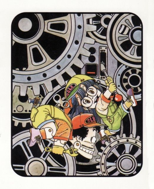 Dr Slump Manga: Art On Pinterest