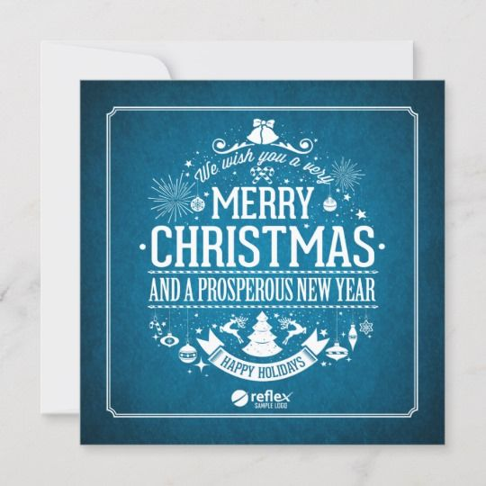 Custom Business Holiday Cards With
