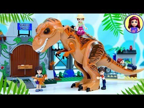 A Pet Dinosaur For The Lego Triplets Jurassic World T Rex