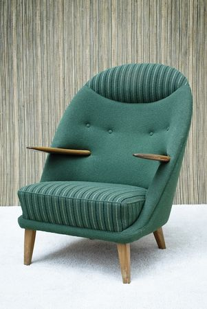 Another chair well-suited for anyone who wants to be an early Bond supervillain with a sense of style.