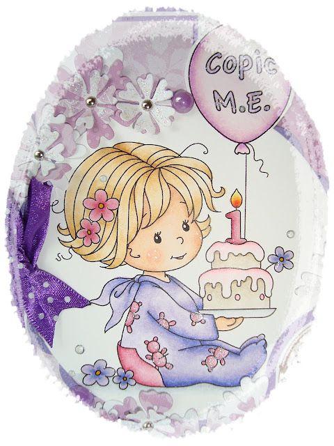 Cards by Susi: Copic Marker Europe feiert seinen 1. Geburtstag