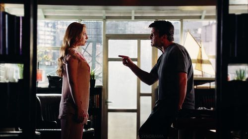 castle and alexis relationship
