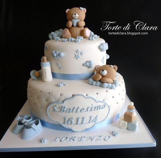 Preferenza torte da battesimo bimbo - Cerca con Google | sweet treats for me  ZV51
