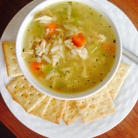"""Chicken, Rice and Vegetable Soup I """"Out of all the soups I have made, this was indeed the best!! Quick, easy and tasty, I wouldn't change a thing with the recipe."""""""