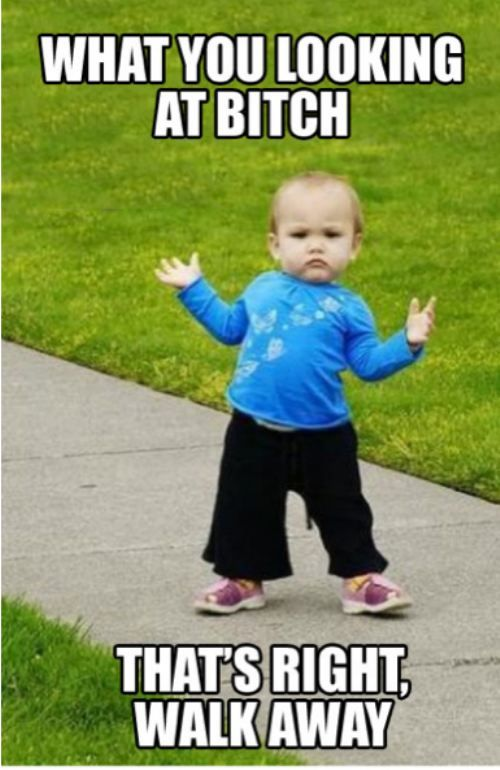 My future child will have this 'tude.