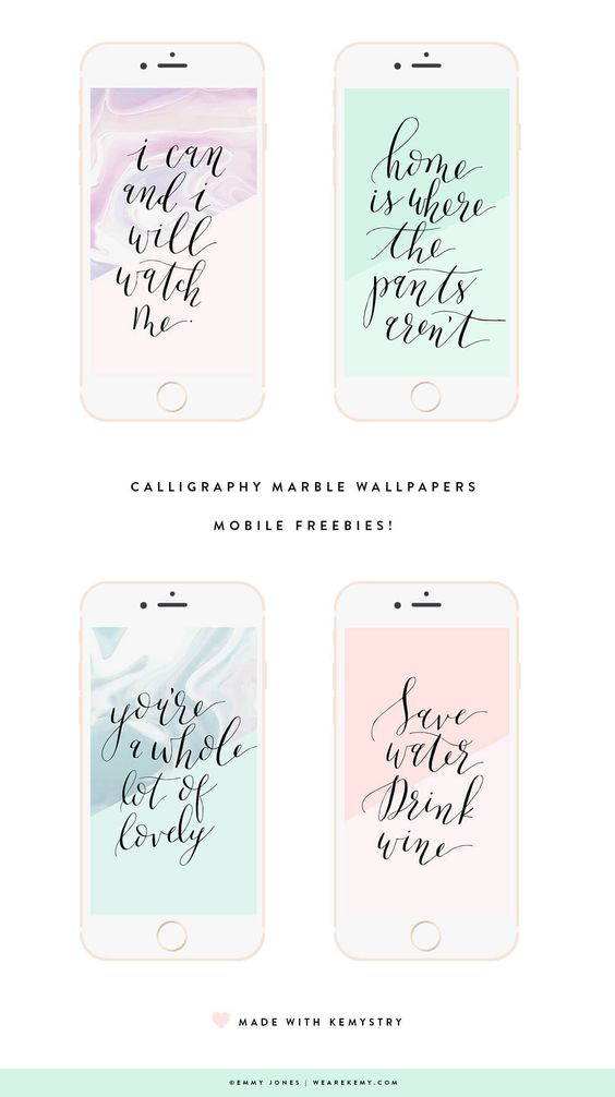 Download your free wallpapers choose from four