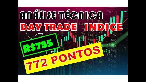 Analise Tecnica Daytrade Mini Indice 772 Pontos Com 5 Mini Em