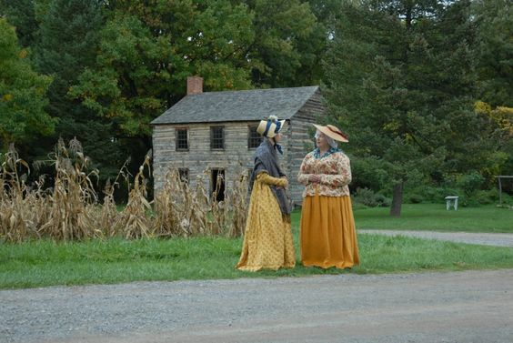 19th century ladies in front of Keiffer Loyd Heath Photography