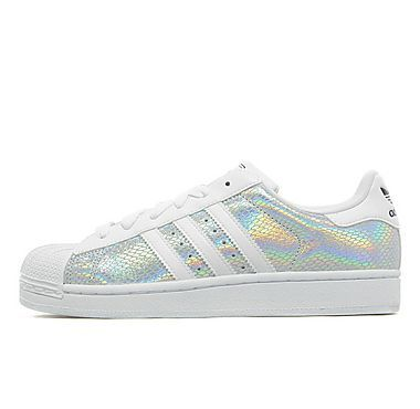 Adidas Superstar Silver Holographic
