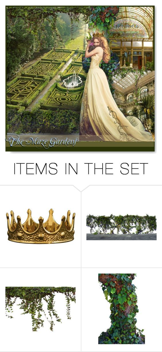 """""""The Maze Gardens"""" by esch103 ❤ liked on Polyvore featuring art and cordiallyinvited"""
