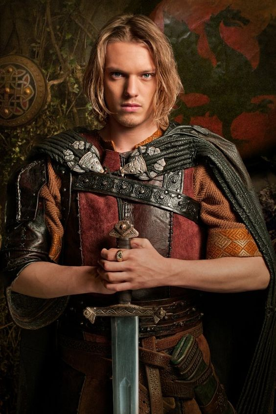 Jamie Campbell Bower - Despite his portrayal of Arthur in Camelot, I prefer Bower as Percival. Young, full of promise, a bit naive, but faithful to the last and quite handy with a sword.