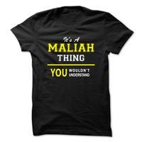 Its A MALIAH thing, you wouldnt understand !!