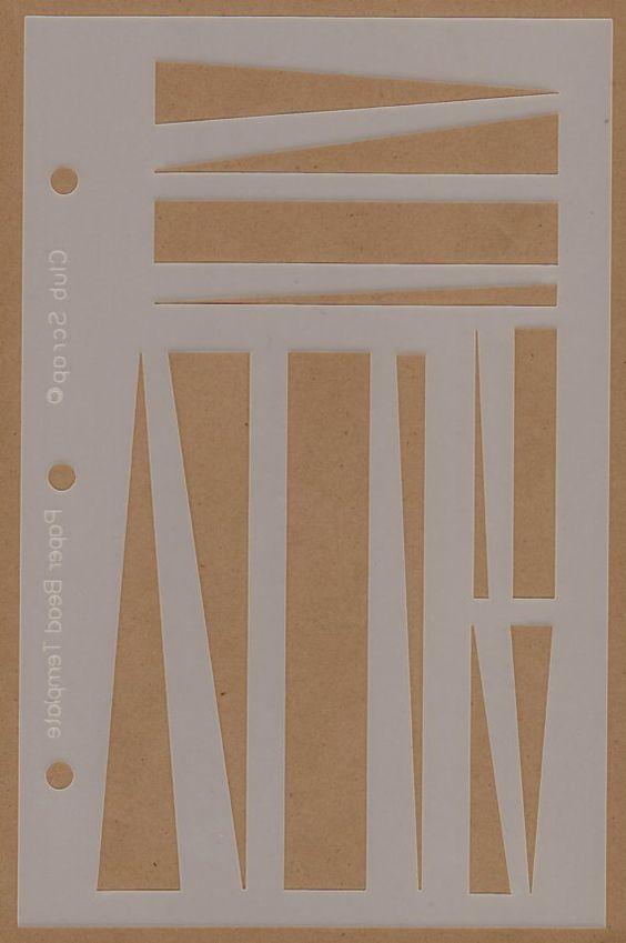 Paper BeadMaking TemplateSkewersNewFREE US SHIPPING par lori082259
