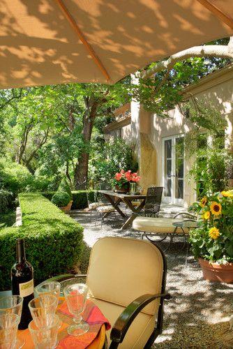 Garden House eclectic patio